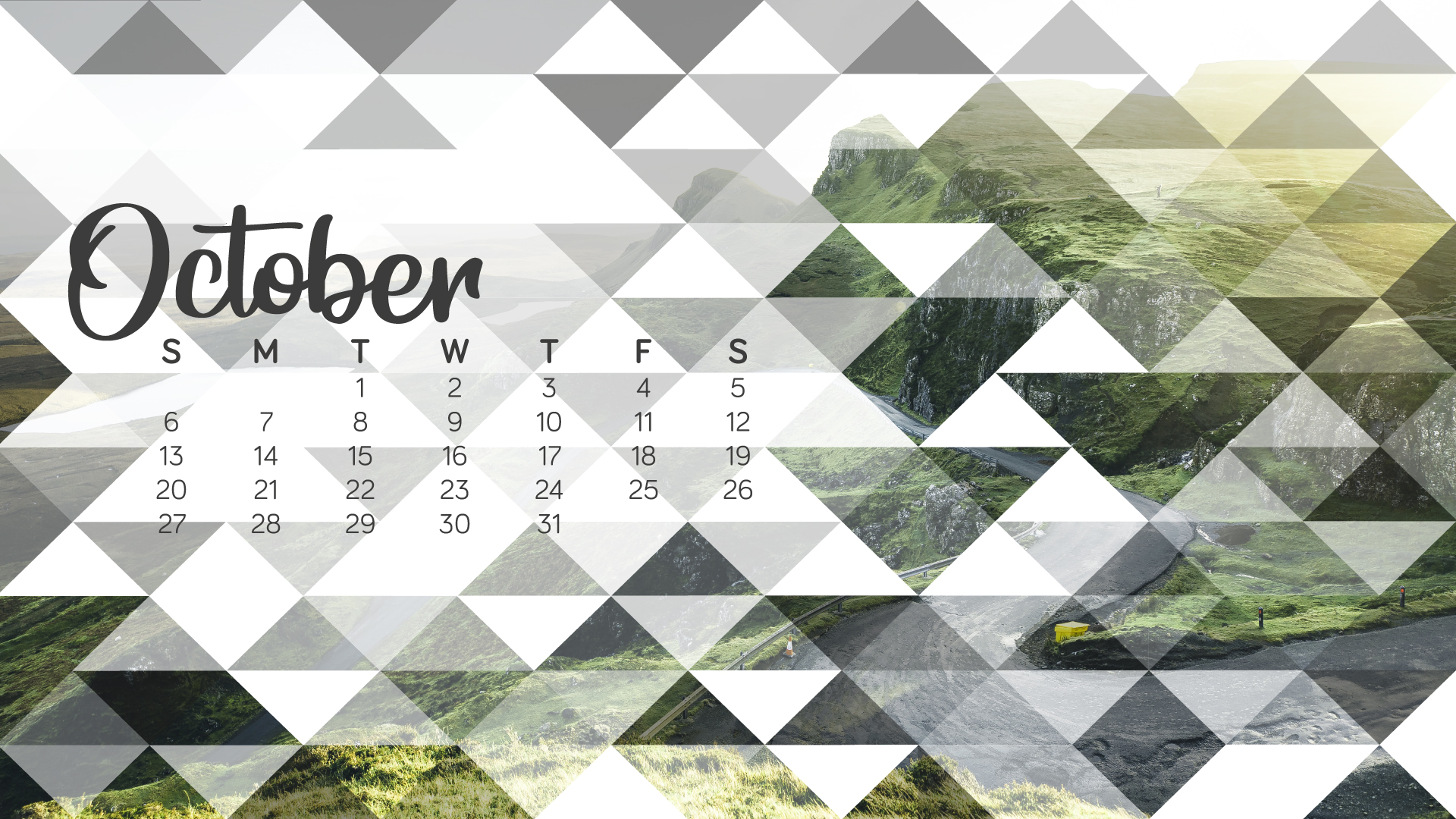 October 2019 Wallpaper